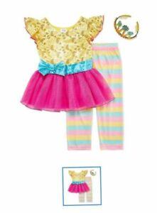 Disney Fancy Nancy Costume Dress Leggings /& Headband