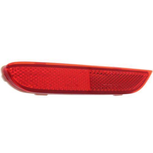 Driver Side NI1184101C Bumper Reflector for 11-15 Nissan Leaf Rear