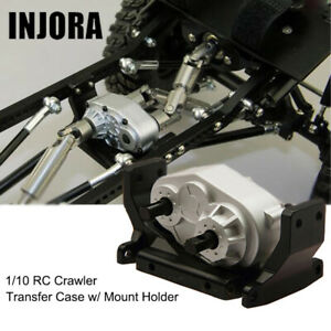 72mm Silver Transfer Case For Axial Scx10 D90 1 10 Rc Crawler Car Parts Ebay