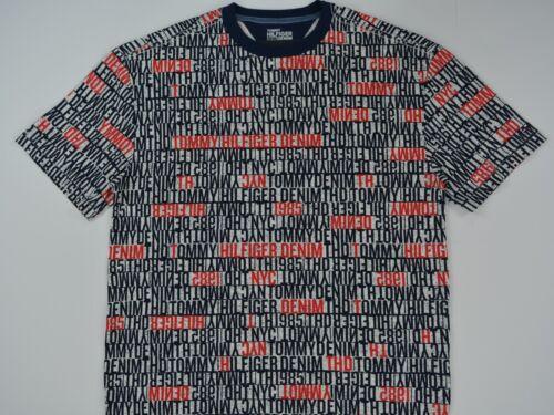 T Shirt 1990/'s Oversized Fit NWT Men/'s Tommy Hilfiger Denim Short-Sleeve Tee