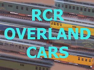 RCR - HO OVERLAND CAR, ((( MAIL-RPO ))) ---- C&NW