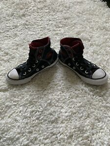 RED CONVERSE HIGH TOP SNEAKERS 13 S2 | eBay