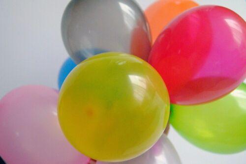 50x 100x 500x Wasserbomben Latexballons Wasserballons Helium Luftballons balloon