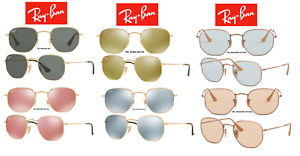 2ecc0d4a13adb Image is loading Ray-Ban-Sunglasses-RB3548N-Hexagonal-Flat-Lenses-Multiple-