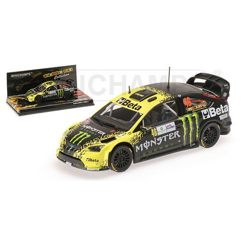 MINICHAMPS 078446 088146 088946 098946 Focus model Rally cars Rossi Cassina 1 43