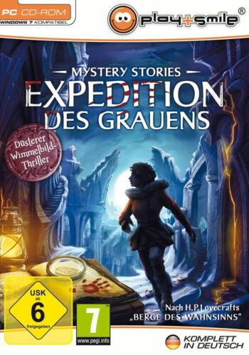 1 von 1 - Mystery Stories: Expedition des Grauens (PC, 2011, DVD-Box)