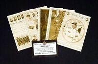 RMS/Titanic/White Star Line/Set of 32/Sepia/Postcards/Belfast/Ireland/New