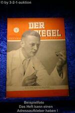 Der Spiegel 25/50 23.6.1950 Er hat eine gewaltige Nase dafür. Prof. Butenandt