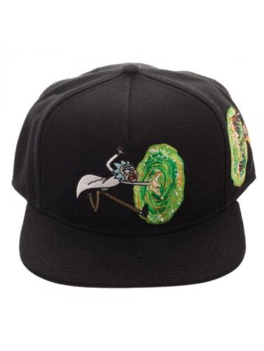 C/'MON MORTY BLACK SNAPBACK CAP NEW OFFICIAL RICK AND MORTY PORTAL