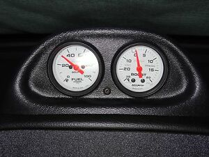 94 97 Mustang Gt Cobra Or V6 Autometer Dash Clock Dual