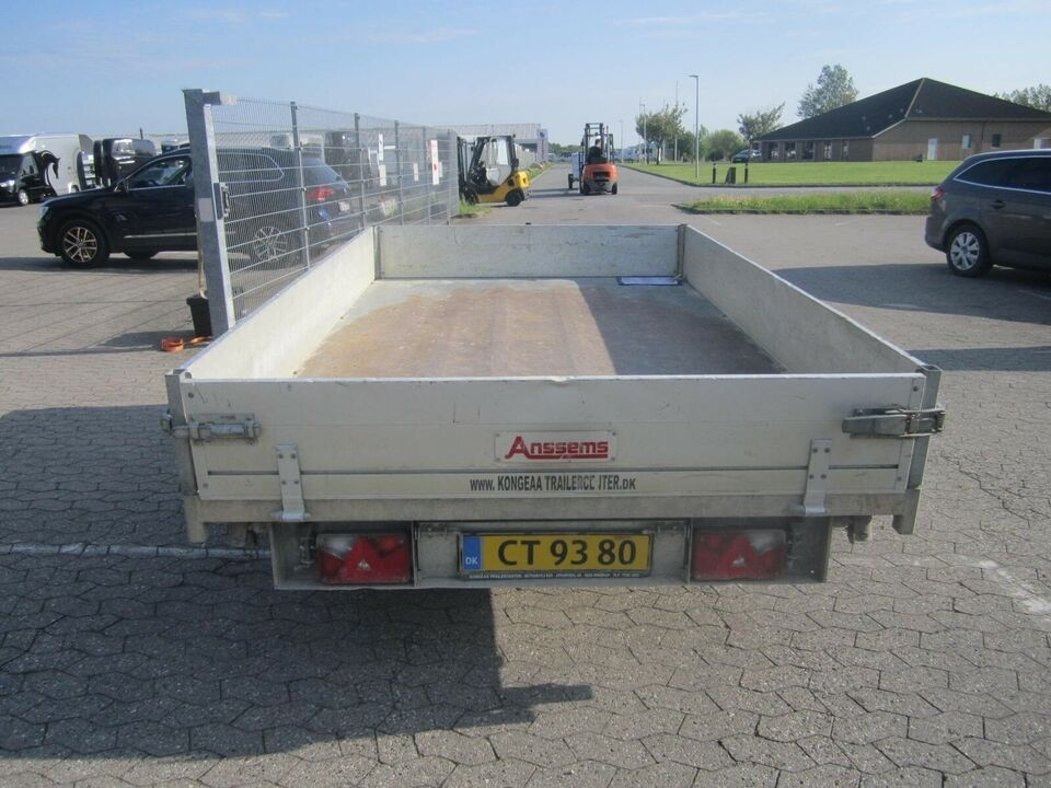 Trailer Anssems KSX 2500 - 305x178 El-tip, lastevne (kg):