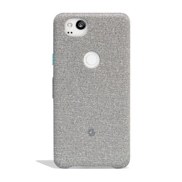 half off f2680 54c21 Google Fabric Case for Pixel 2 - Cement