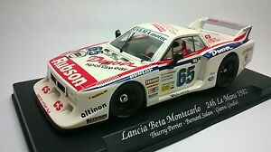 Slot-Car-Fly-GB39-Lancia-Beta-Le-Mans-1982-Compatible-1-32-Scalextric-SCX
