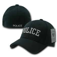 USA Military Law Enforcement Flexfit Fitted Embroidered Baseball Dad Caps Hats