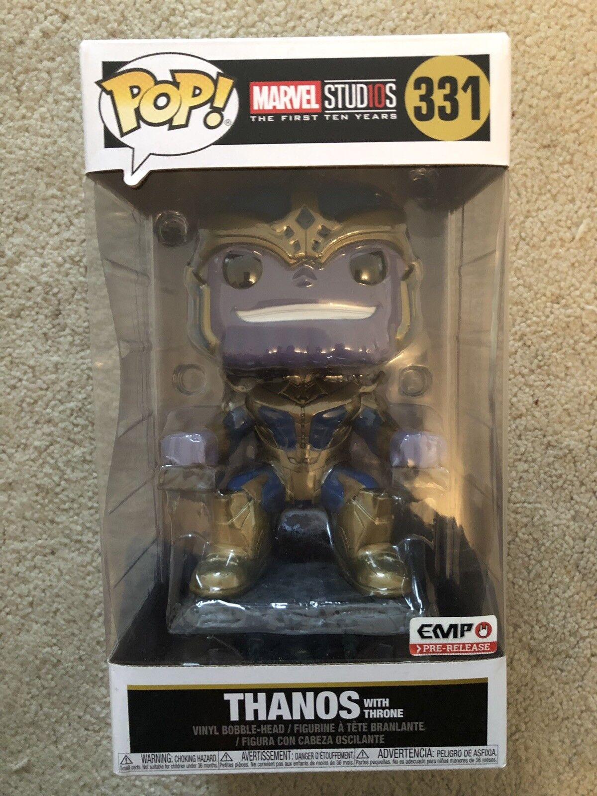Funko Pop Marvel Thanos With Throne EMP Exclusive 331