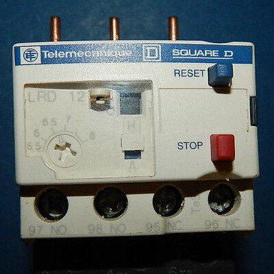 TELEMECANIQUE LRD12 690V 5.5-8A UNMP