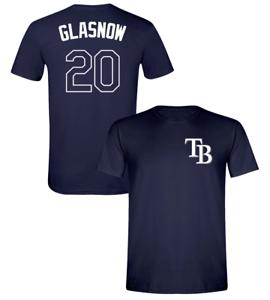 Tyler Glasnow T-Shirt Shirsey Tampa Bay Rays MLB Soft Jersey #20 (S-2XL)