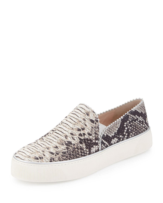 STUART WEITZMAN WEITZMAN STUART Women Sneakers Shoes Size 10.5 NEW Leather Snake Print 07d44a