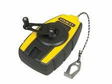 Stanley Tools-Compacto Chalk Line 9 Metros-stht0-47147