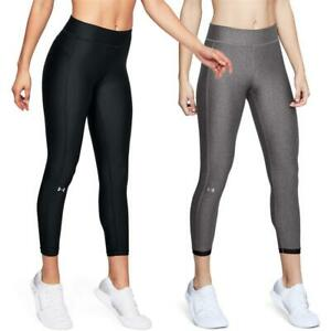 Under Armour HeatGear Ankle Crop Sport Tights Hose Trainingshose Sporthose Leggi