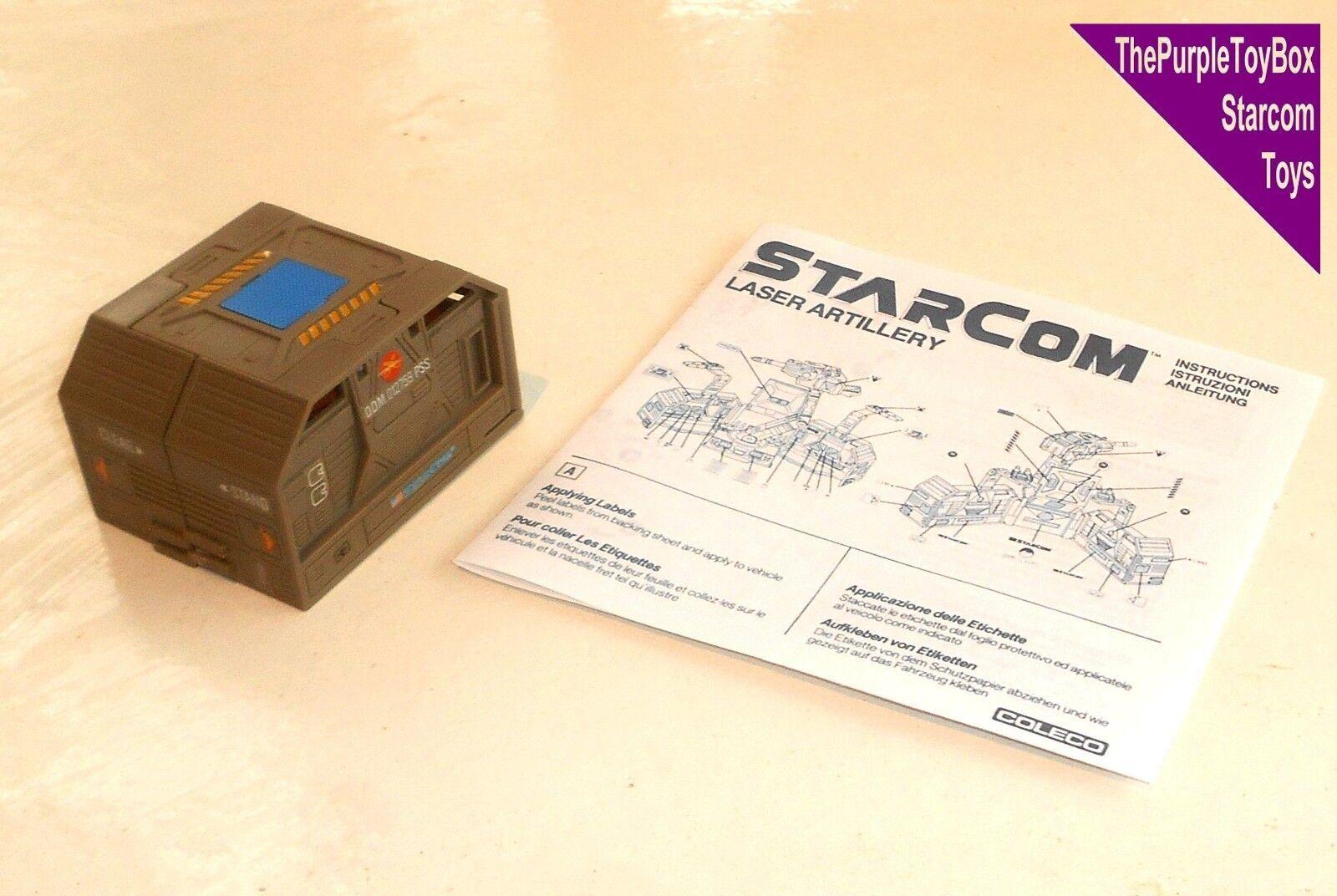 (R001) Vintage 1980's Starcom Toys  LASER ARTILLERY  Star Star Star Wing - WORKING 1af045