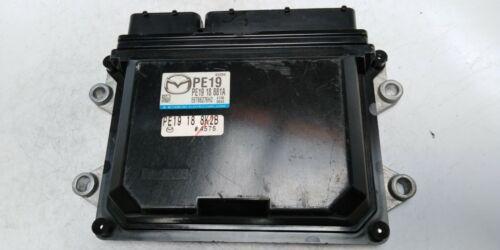2014 MAZDA 3 Computer Brain Engine Control ECU ECM EBX Module PE19 18 881A