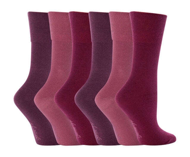 6 Pairs Ladies Girls Socks Mixed Fashion Designs /& Plain Socks  4-6 UK