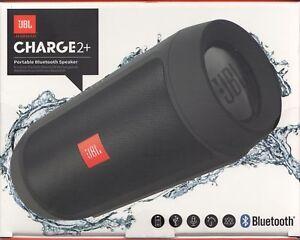 JBL-Charge-2-in-Schwarz-Bluetooth-Lautsprecher-Portable-Speaker-Neu-amp-OVP