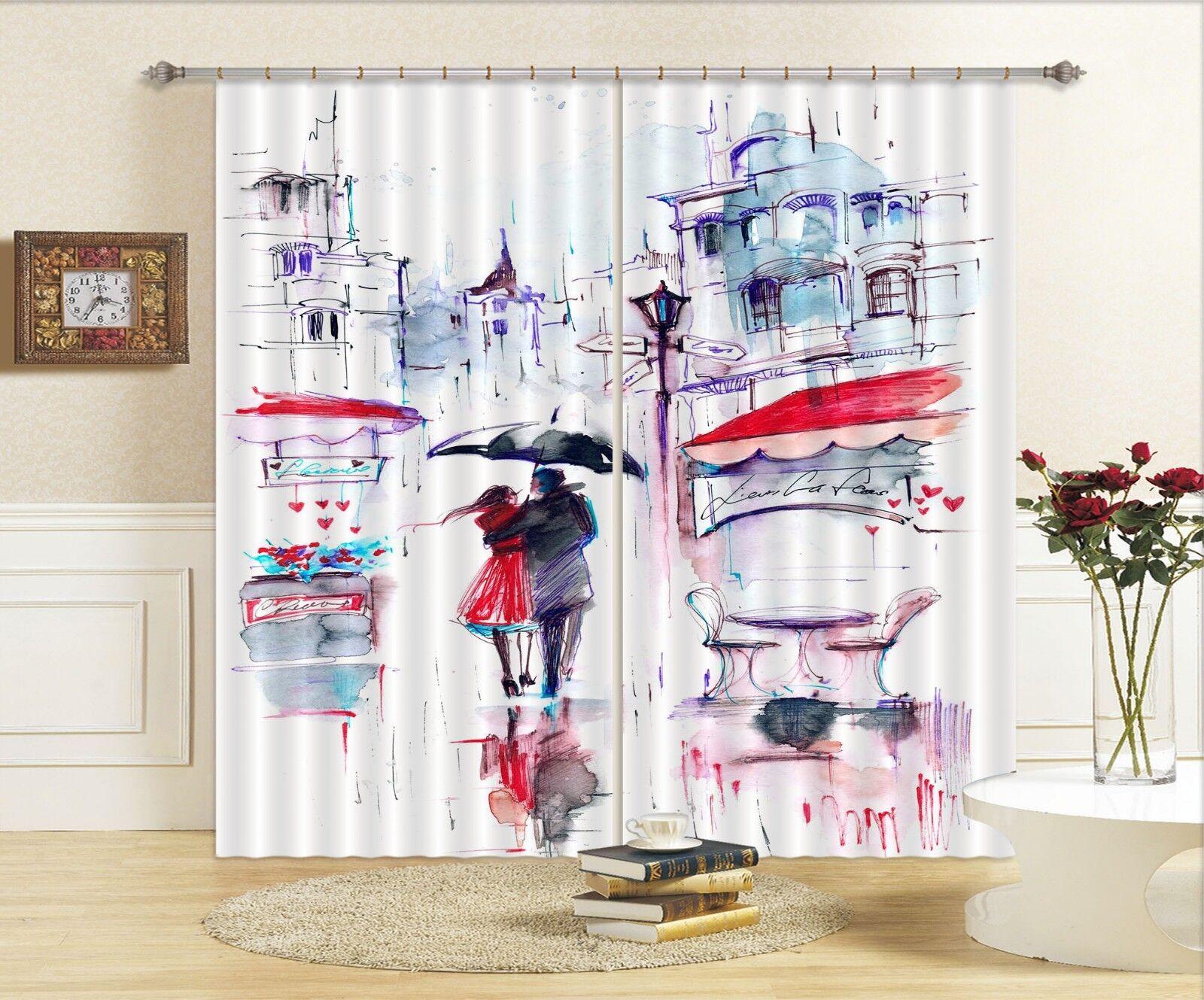 3d arte pinturas bloqueo 77 cortina de fotografía presión cortinas cortina de tela de ventana