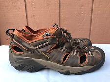 Keen Arroyo II Mens Hiking Sandals Brown Leather Orange US 9 EUR 42 $120