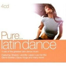 PURE... LATIN DANCE 4 CD MIT JENNIFER LOPEZ UVM. NEU
