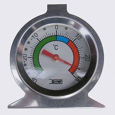 30° bis Kühlschrank-Thermometer ohne Quecksilber LT-122 Edelstahl 30°C *V0