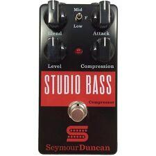 Seymour Duncan Studio Bass Studio Grade Compressor Bass Dynamics Effect Pedal