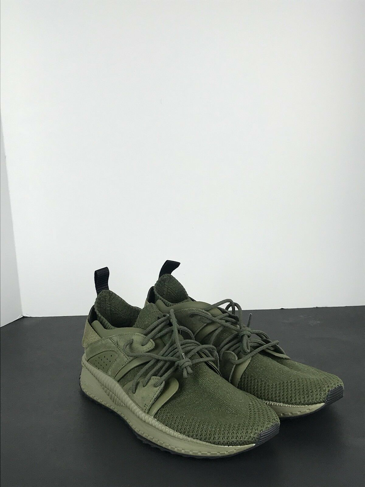 Puma Tsugi Blaze Evoknit in Olive Night/Falcon 364408-03 Comfortable
