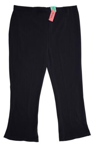 LICK * Taglia 22-24 Women/'s Stretch a coste Pantaloni Blu Navy Nuovo con Etichetta piccole raccordo