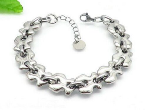 Nouveau Haute Qualité en acier inoxydable vide placage or BEAR Bracelet