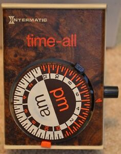 Vintage Intermatic Time-All D-211 Lamp or Appliance Timer (BIN22)