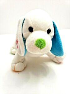 Ganz-Webkinz-Harmony-Puppy-8-034-RETIRED-Plush-Music-Notes-Stuffed-Animal-SWEET
