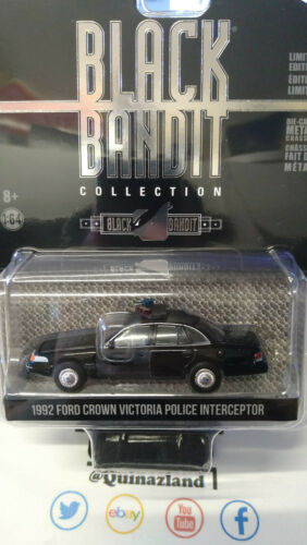 NG90 Greenlight Black Bandit 1992 Ford Crown Victoria Police serie 23