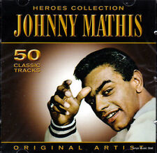 JOHNNY MATHIS - HEROES COLLECTION (NEW SEALED 2CD)