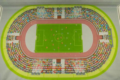 Filzteppich Fußball Stadion Spielteppich grün