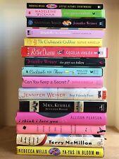 LOT of 15 CHICK LIT books Jennifer Weiner Wickham Ahern Wells Pearson Haigh More