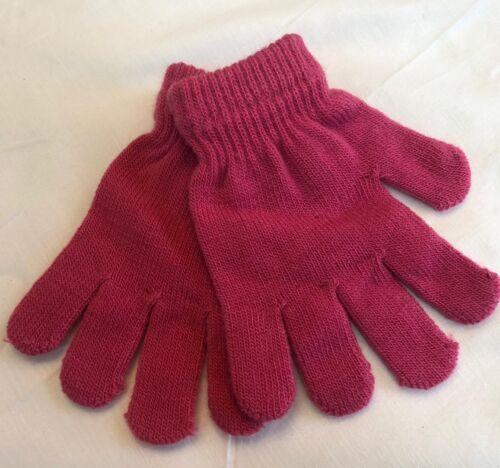Kids Children Magic Gloves Full Finger School Evening Winter Warm Boys Girls 720