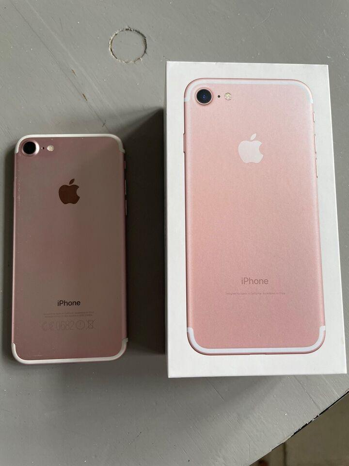iPhone 7, 128 GB, guld