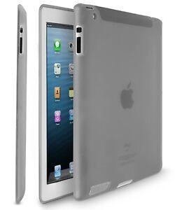 Flexible Slim TPU Soft Silicone Thin Case Cover Skin for Apple iPad 4 3 2 Gen