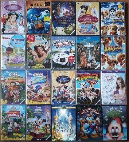 Klokkeblomst, instruktør Disney, DVD