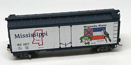 New Old Stock Micro Trains MTL USA State Series Mississippi 1817