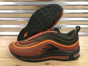 Men's Nike Air Max 97 UL 17 SE Green Brown Boys Running