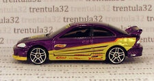 Set Exclusive HONDA CIVIC Si purple yellow black 1:64 diecast Hot Wheels Loose