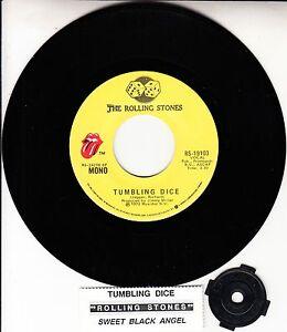 ROLLING-STONES-Tumbling-Dice-amp-Sweet-Black-Angel-7-034-45-rpm-vinyl-record-NEW